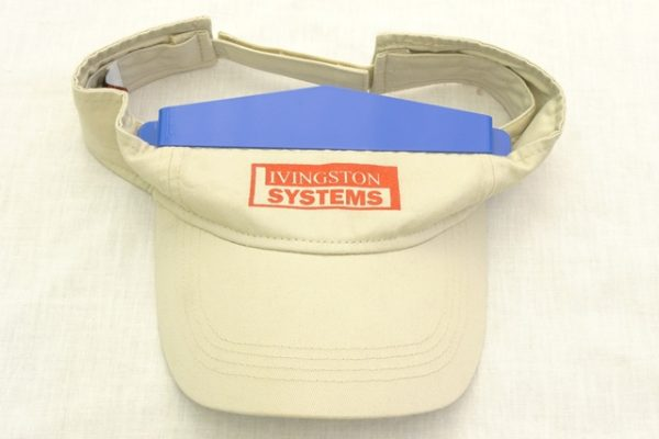 Livingston Systems Hat Champ Visor Platen Visor