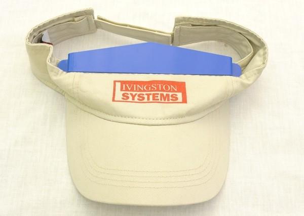 Livingston Systems Hat Champ Visor Platen Visor